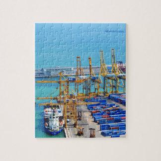 Barcelona harbour jigsaw puzzle
