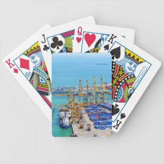 Barcelona harbour poker deck