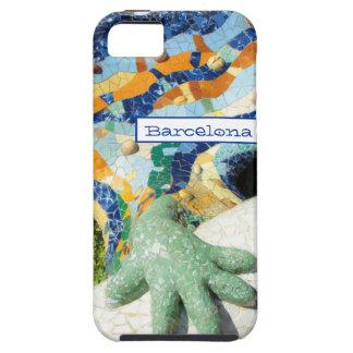 Barcelona Lizard Hand Mosaics iPhone 5 Case