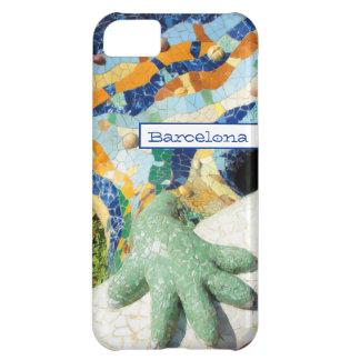 Barcelona Lizard Hand Mosaics iPhone 5C Case