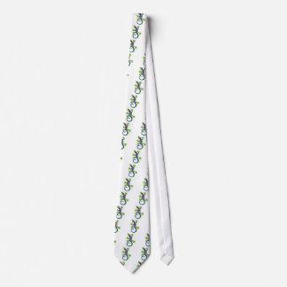 Barcelona lizard tie