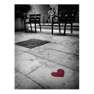 Barcelona Love Postcard