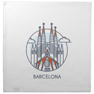 Barcelona Napkin