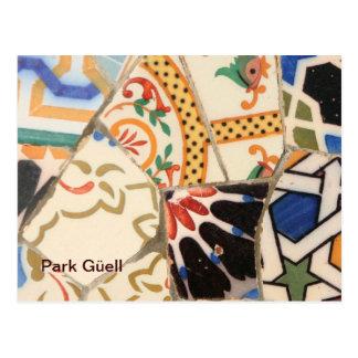 Barcelona- Park Güell Postcard