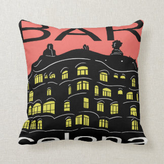 "Barcelona Polyester Throw Pillow 16"" x 16"""
