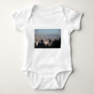 Barcelona Postcard Baby Bodysuit