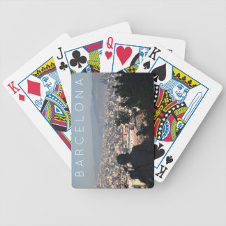Barcelona Postcard Bicycle Playing Cards