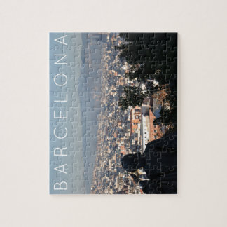 Barcelona Postcard Jigsaw Puzzle