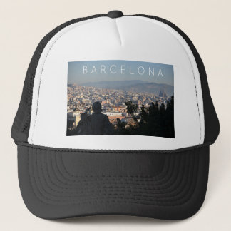 Barcelona Postcard Trucker Hat