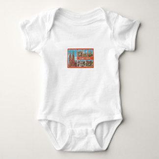 Barcelona retrospect baby bodysuit