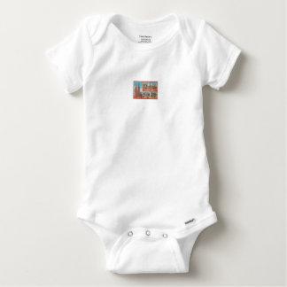 Barcelona retrospect baby onesie