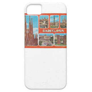 Barcelona retrospect barely there iPhone 5 case