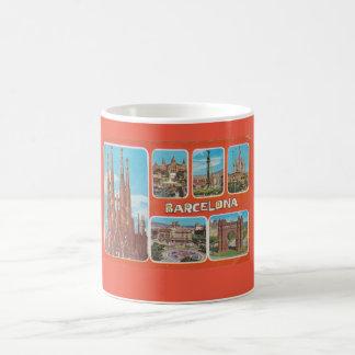 Barcelona retrospect coffee mug
