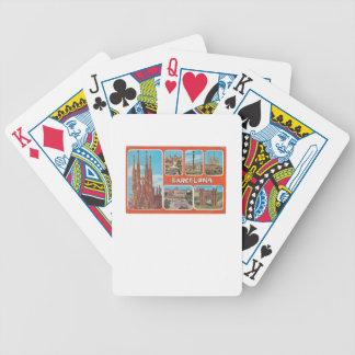 Barcelona retrospect poker deck