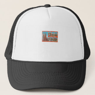 Barcelona retrospect trucker hat