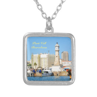 Barcelona Silver Plated Necklace