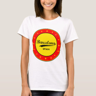 Barcelona, Spain, circle T-Shirt