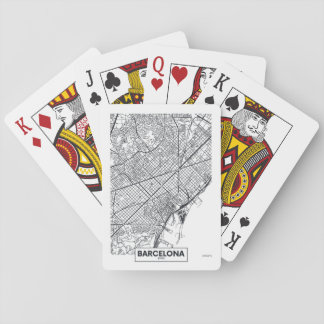Barcelona, Spain | City Map Playing Cards