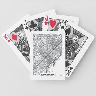Barcelona, Spain | City Map Poker Deck