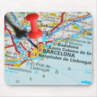 Barcelona, Spain Mouse Pad
