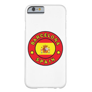 Barcelona Spain phone case Barely There iPhone 6 Case