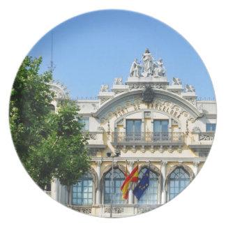 Barcelona, Spain Plate