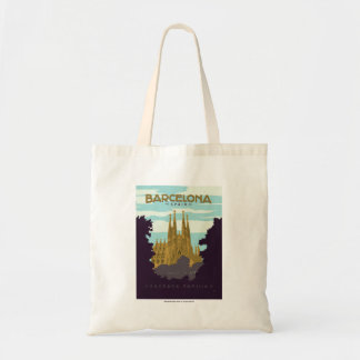 Barcelona, Spain - Sagrada Familia Tote Bag
