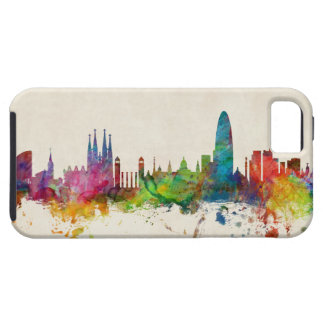Barcelona Spain Skyline iPhone 5/5S Cases