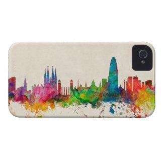 Barcelona Spain Skyline iPhone 4 Cover