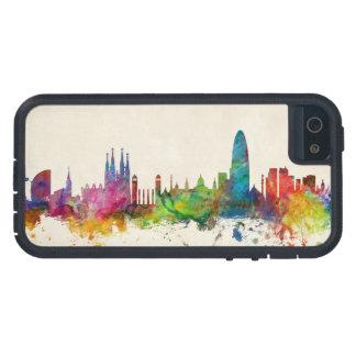 Barcelona Spain Skyline iPhone 5/5S Covers