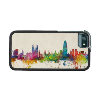 Barcelona Spain Skyline iPhone 5 Cover