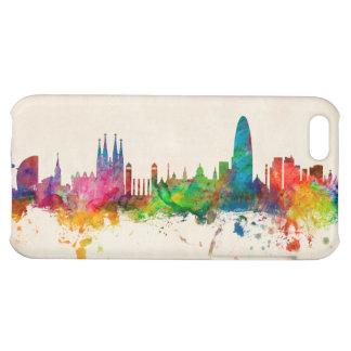 Barcelona Spain Skyline iPhone 5C Covers