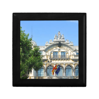 Barcelona, Spain Small Square Gift Box