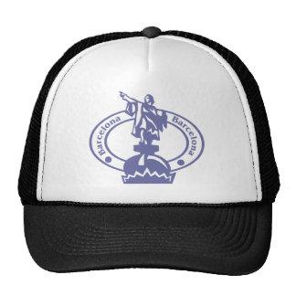 Barcelona Stamp Trucker Hats