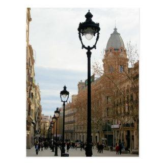 Barcelona Stroll - Portal del Angel Postcard