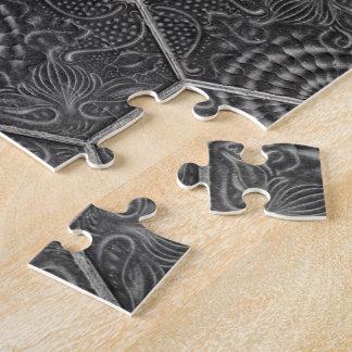 Barcelona Tiles Grey Puzzles