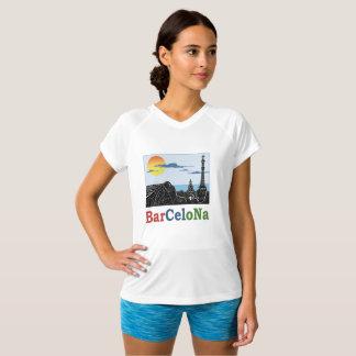 Barcelona Women's Champion V-Neck T-Shirt