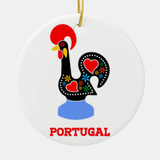 Barcelos Rooster Ceramic Ornament