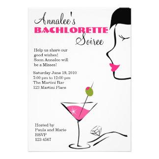 Barchlorette Martini Soiree Announcements