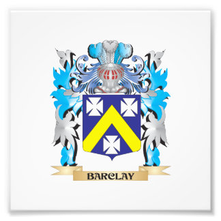 Barclay Coat of Arms Photo Print