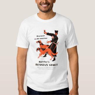 Barclays Russian Stout advert Tee Shirts