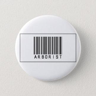 Barcode Arborist 6 Cm Round Badge