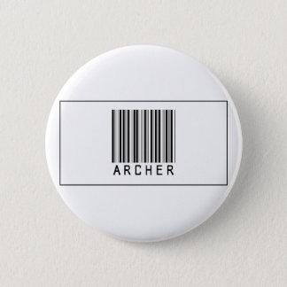Barcode Archer 6 Cm Round Badge