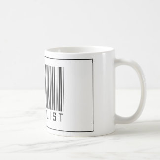 Barcode Bicyclist Mug