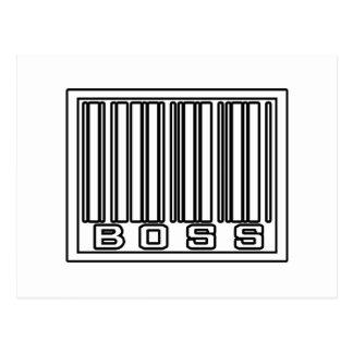 Barcode Boss Post Card
