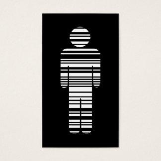 barcode boy business card