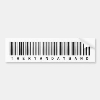 Barcode Bumper Sticker