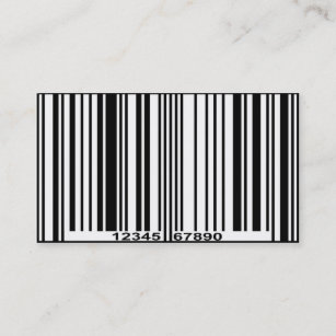 Barcode business cards zazzle au barcode business card colourmoves