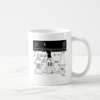 Barcode Cartoon 7019 Coffee Mug