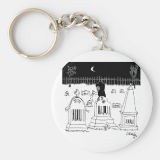 Barcode Cartoon 7019 Key Ring